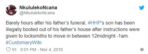 Drama as HHP