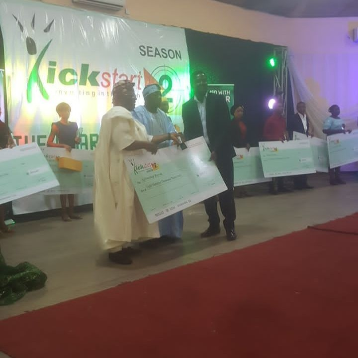 NBPlc IBP Kickstart.... Funding and Fueling the dreams of the Nigerian youth.