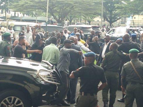 Pandemonium as five lawmakers allegedly planned to impeach Akwa Ibom gov, Emmauel Udom