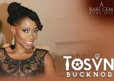 Ayeni Adekunle writes a moving poem to mourn Tosyn Bucknor as her funeral rites begins today