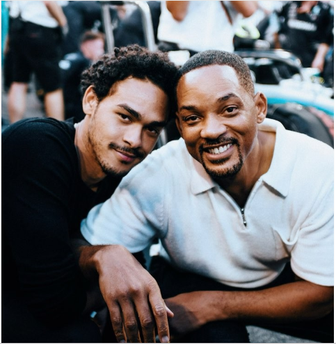 Will Smith gets teary as he talks about his oldest son Trey, reveals they