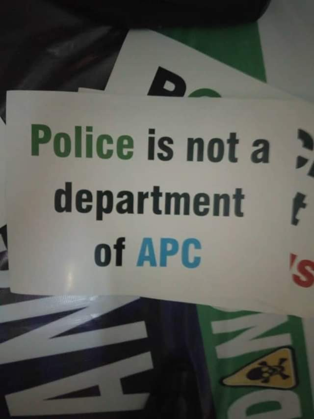 Police states why Deji Adeyanju and two other persons were arrested in Abuja during a protest