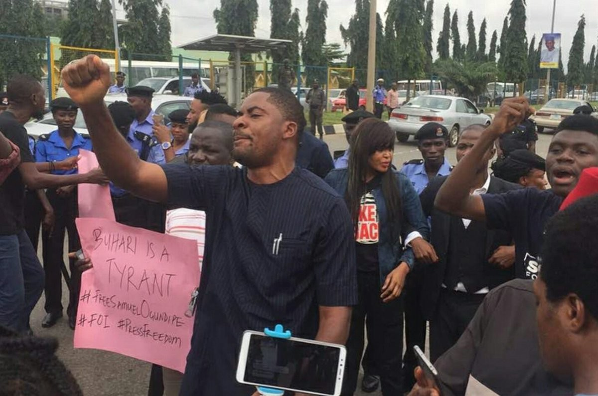 Deji Adeyanju arraigned in court, remanded in Keffi Prison, Nasarawa until January 21st 2019