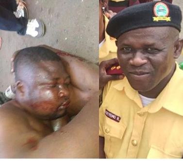 Update: FSARS officer who shot LASTMA official dead in Lagos, dies after being beaten by a mob for shooting the LASTMA official