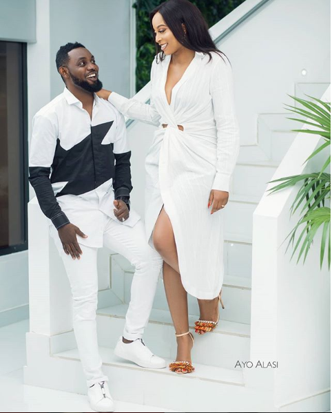 'I want to grow old with you and remember the past with you Comedian AY tells wife Mabel as they celebrate their 10th wedding anniversary.