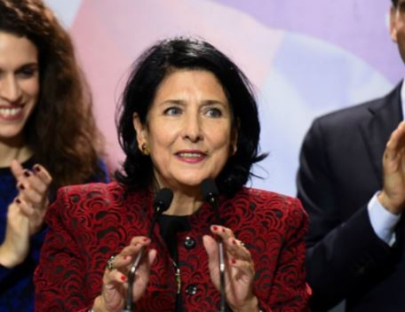 Georgia elects Salome Zurabishvili as the country
