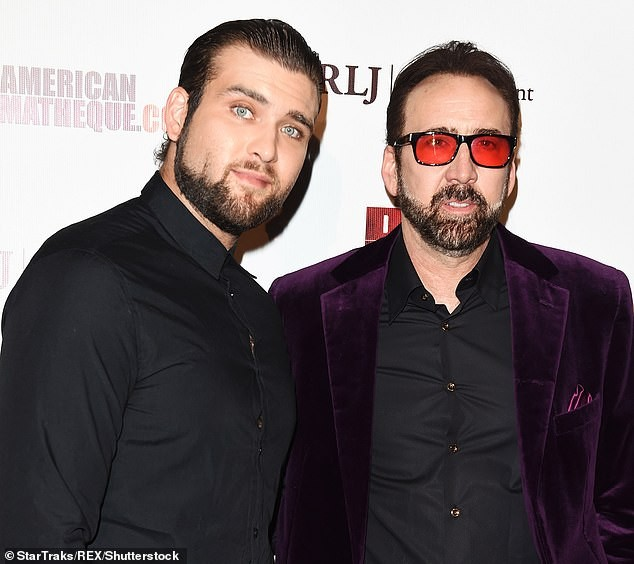 Nicolas Cage is helping his son Weston to pay $8k-a-month child support for his two kids with second wife