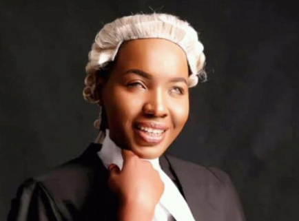 Meet stunning visually impaired Nigerian lady who was recently called to the Nigerian Bar