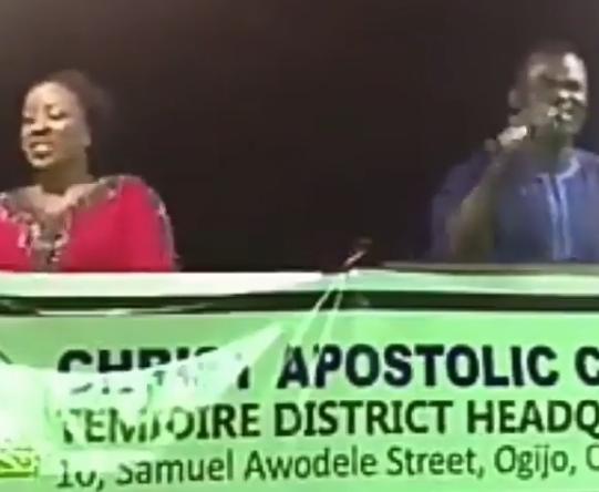 Trending video of a church crusade where the choir sang Shaku Shaku, Reggae Blues, other worldly songs