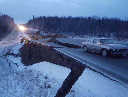 7.0 magnitude earthquake strikes Alaska (Photo)