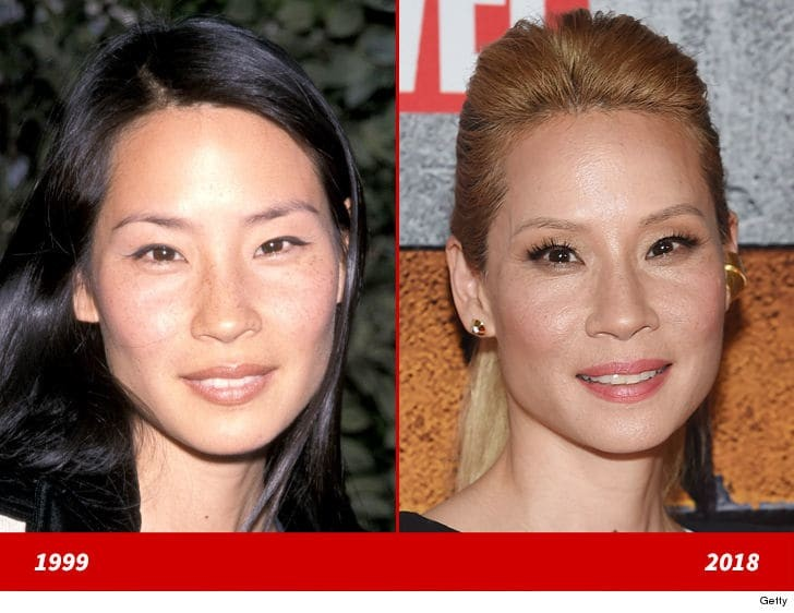 Check out this amazing transformation of American actress Lucy Liu in 1999 and 2018 as she clocks 50 today