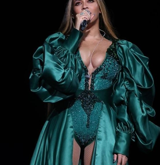 Check out all the stunning outfits Beyonce rocked for per Global Citizen performance in South Africa last night