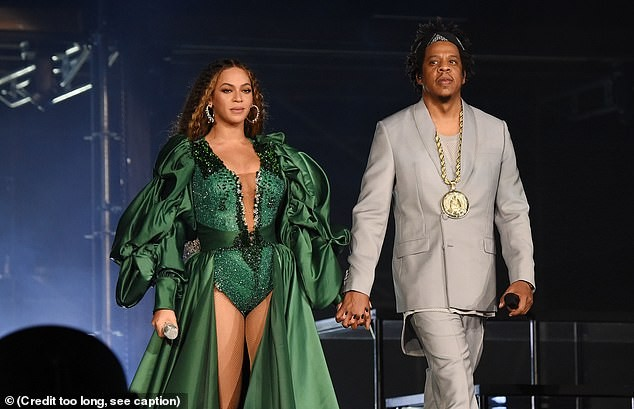 Beyonce performs in six different outfits at Nelson Mandela charity concert in South Africa?