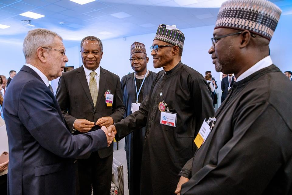 Photos: President Buhari attends climate change opening ceremony in Poland