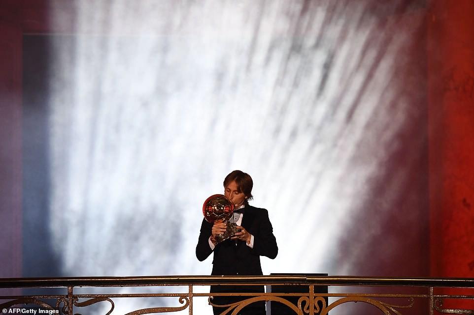 Luca Modric crowned world