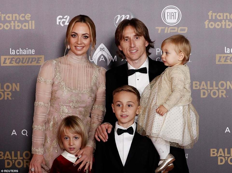 Luca Modric crowned world