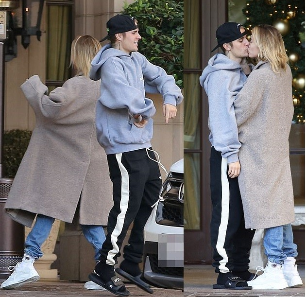 Justin Bieber and wife Hailey Baldwin show off Some Love Dance Moves in Beverly Hills (Photos)