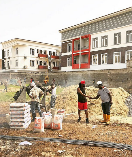 Photo/Video: Singer Paul Okoye building a new mansion in Parkview, Ikoyi