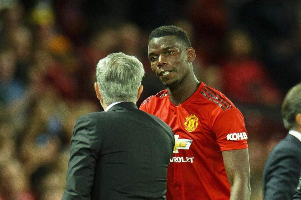 Paul Pogba fires back at his coach Jose Mourinho for calling him
