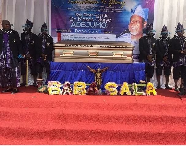 Rose Odika, Dele Odule, Lere Paimo, others turn up for Baba Sala