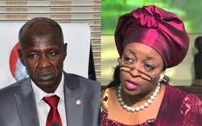 Diezani is being protected by forces abroad- EFCC chairman, Ibrahim Magu, says