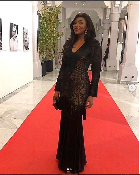 The stunning Genevieve Nnaji rocked Marrakech Film Festival in Morocco (Photos)