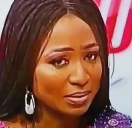 TVC presenter, Morayo Afolabi-Brown tearfully apologises to her husband after saying she wouldn
