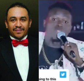 Tithing: Comedian, Akpororo attacks Daddy Freeze during his performance at #TheExperience13