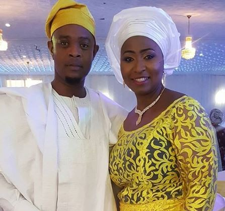 Husband of?TVC presenter, Morayo Afolabi-Brown who said she wouldn