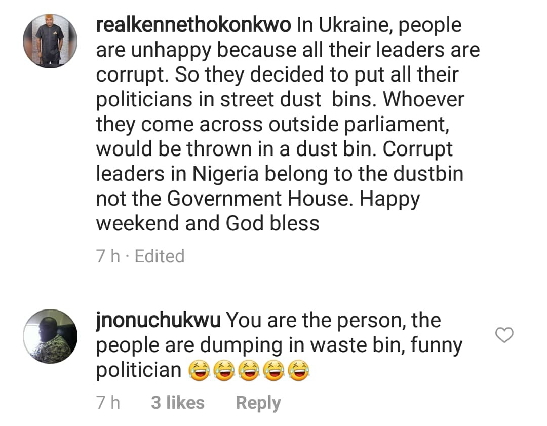 Actor Kenneth Okonkwo places a curse on IG user who called him a bastard