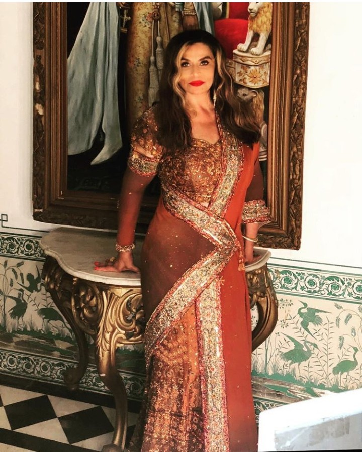 Beyonce, her mother Tina Lawson, and Hillary Clinton looked amazing as they attended wedding of the daughter of India