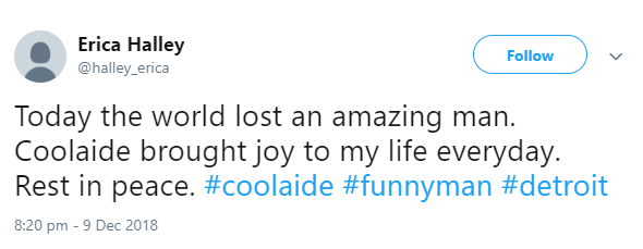 American Comedian Cooaide dies after battle with cancer; celebrities mourn him