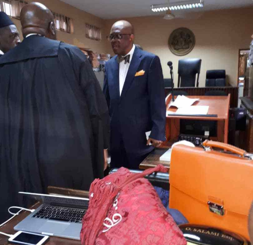 NBA President, Paul Usoro, arrives court for arraignment on money laundering charges (photos)