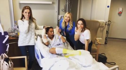 Mel B rushed to hospital where she had 3-hour emergency surgery