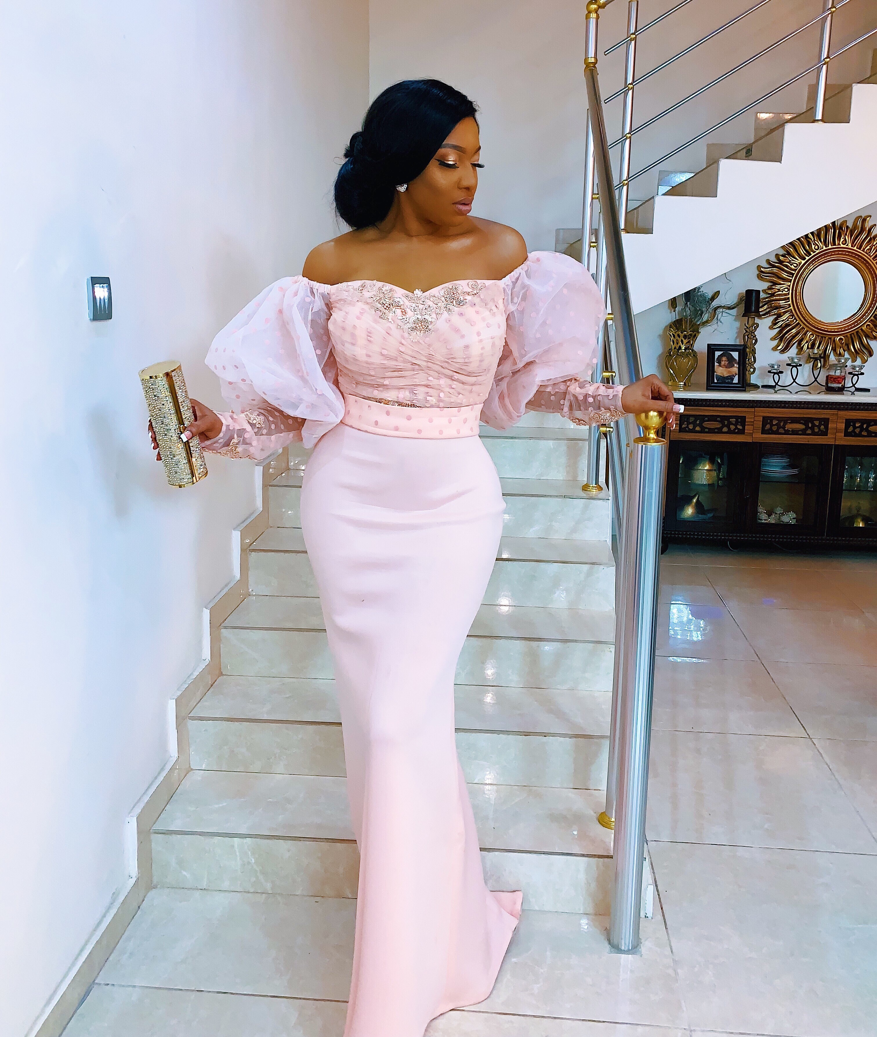 Phootos: Chika Ike dazzles in figure hugging dress at the Harvard Buiness School black tie event