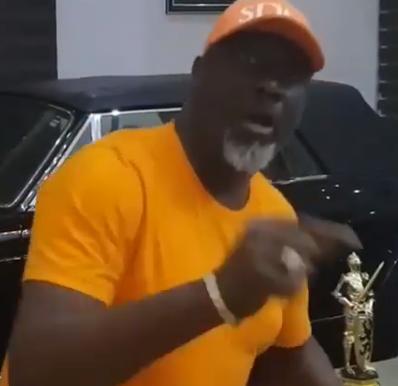 Lol! Dino Melaye attacks President Buhari in new hit song (video)