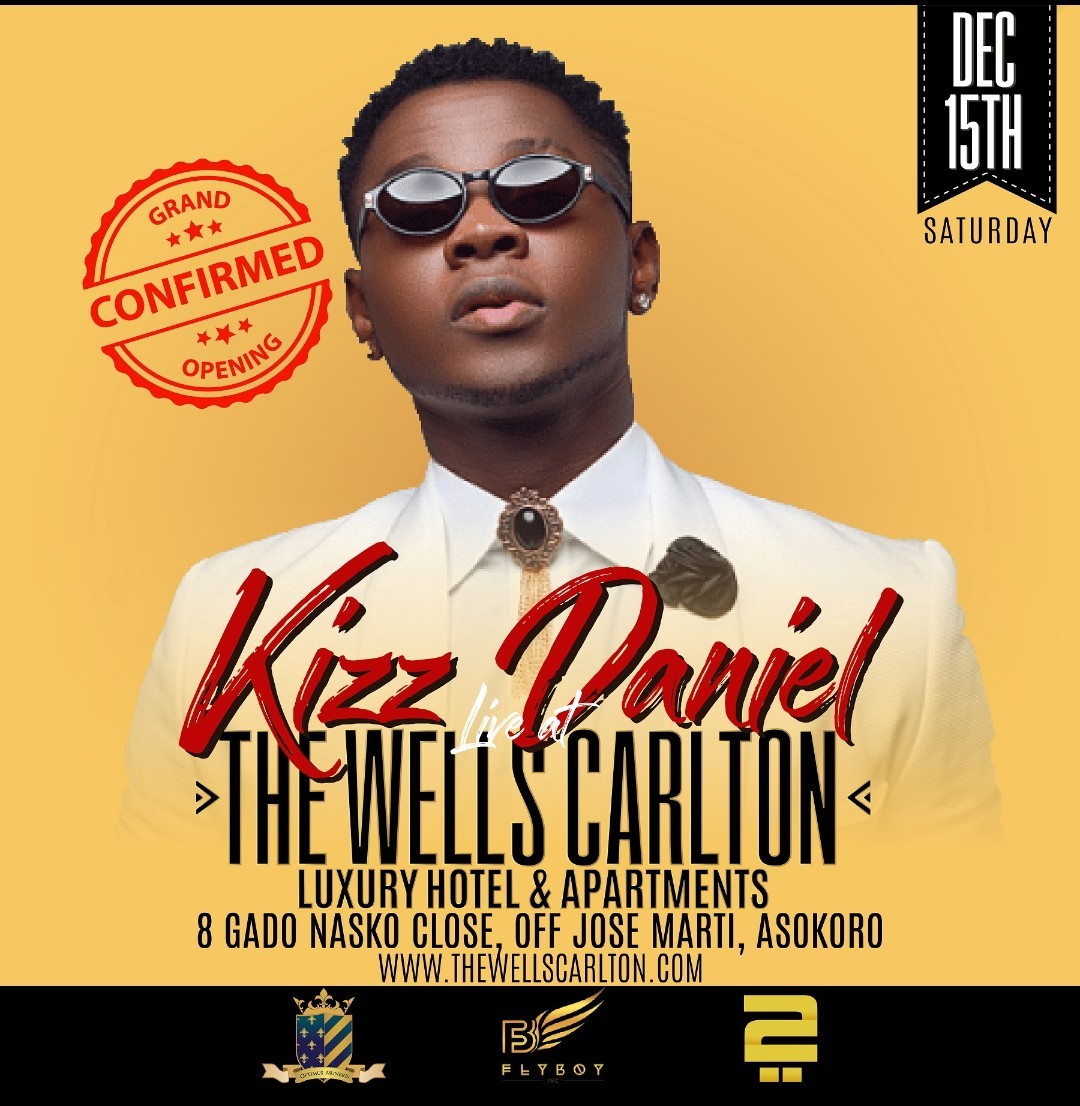 VP Yemi Osinbajo, Davido, Kizz Daniel, others to attend Wells Carlton Hotel and Luxury apartments launch