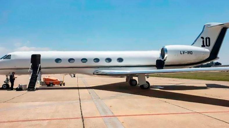 Lionel?Messi acquires ?12million?customised?private jet (Photos)