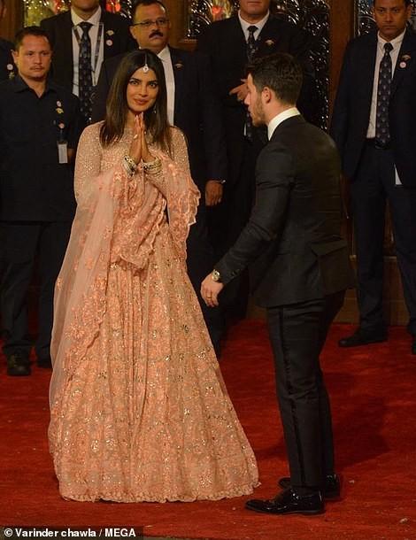 Priyanka Chopra and Nick Jonas attend lavish $100m wedding of India