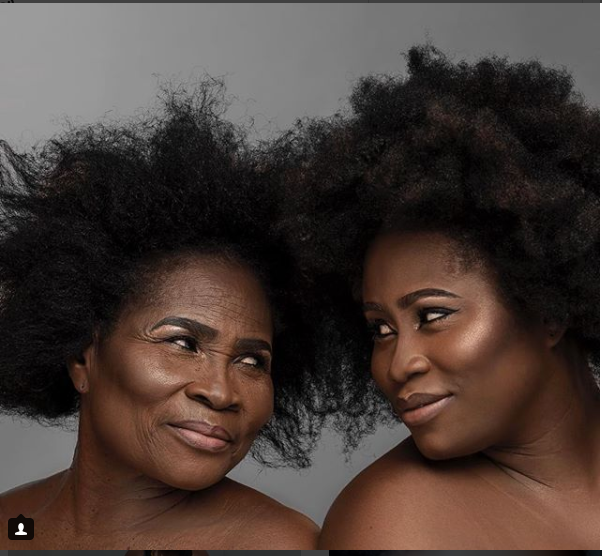 ?Check out this adorable photo of actress Lydia Forson and her mom?
