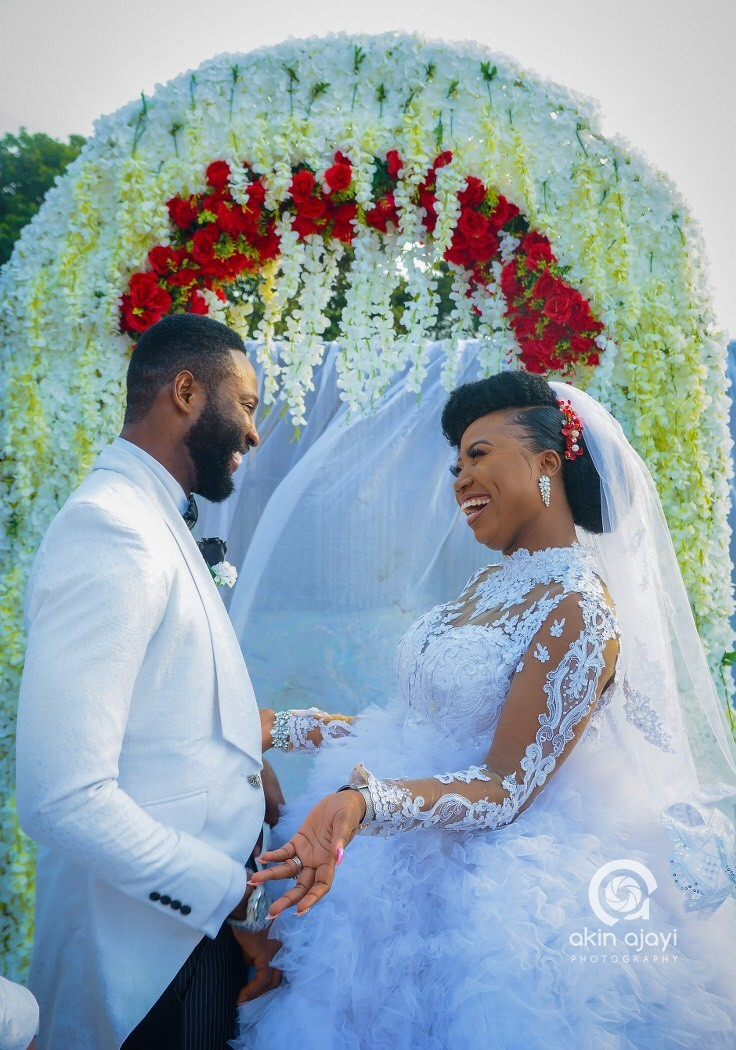 Official wedding photos of Nollywood Actor Frankincense Eche-Ben #TheEcheBens2018