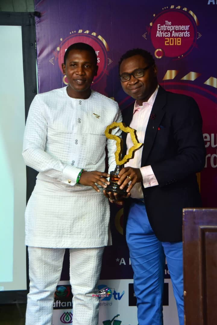 Ubi Franklin, Sandra Ikeji, other Entrepreneurs win big at The Entrepreneur Africa Awards, 2018