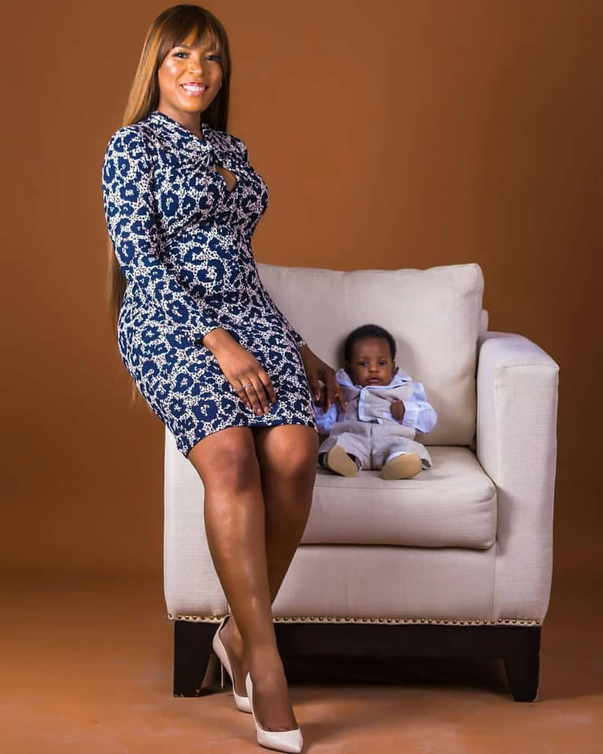Breathtaking photos of Linda Ikeji and her son, Jayce