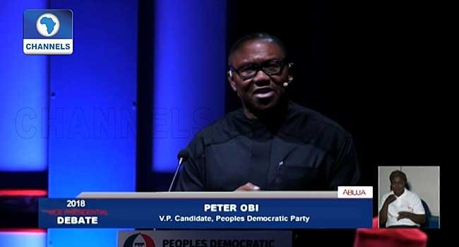 #2019Debate: Asides Peter Obi and Osinbajo, the other candidates were an embarrassing and distasteful joke- FFK