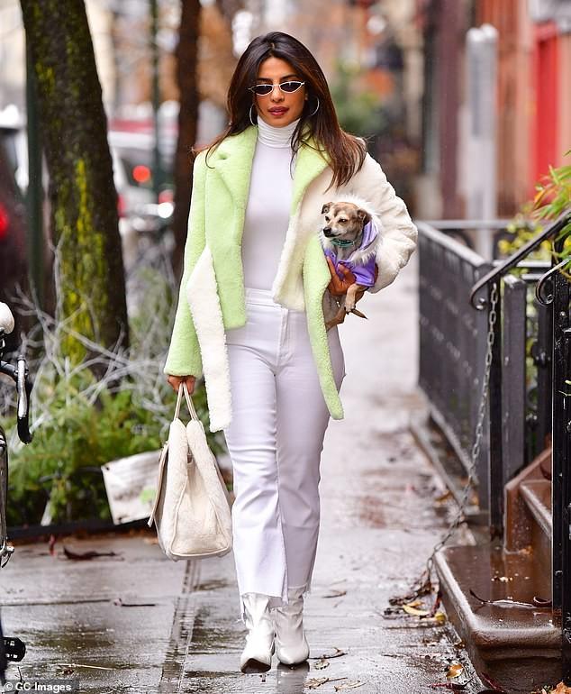 Priyanka Chopra steps out in style as she