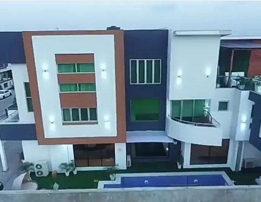 AY completes his second house... See the breathtaking interior (video)