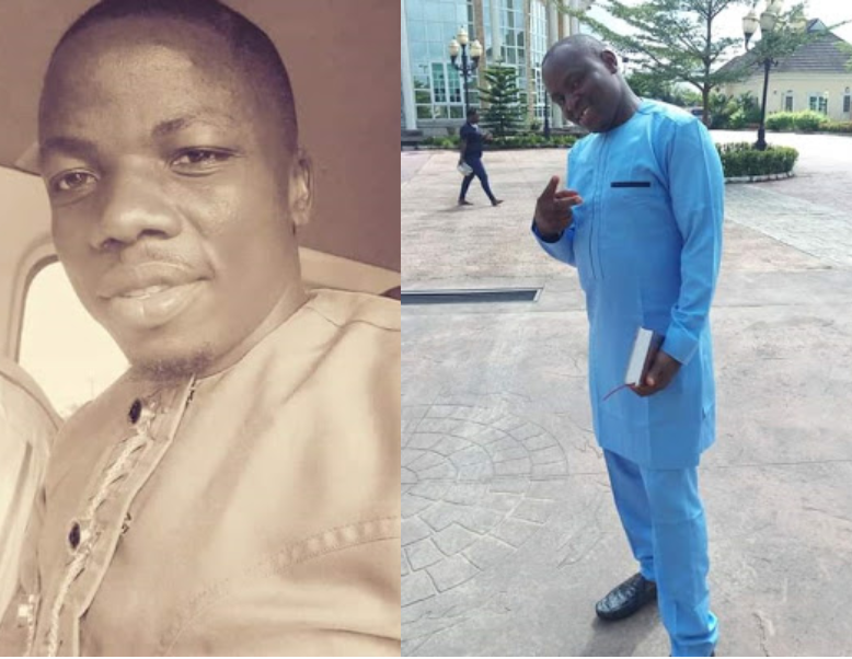 Photos of businessman and his driver shot dead by gunmen on Bayelsa on their way to deliver ransom money to kidnappers