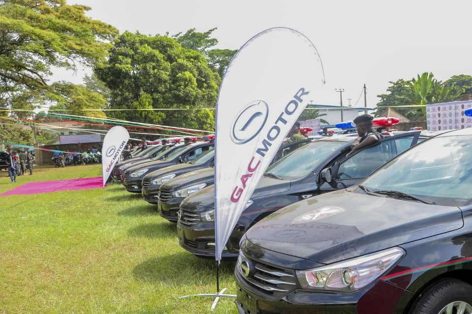 The quiet expansion of GAC Motor within the Nigerian Automobile Industry - Edo state government donates 50 vehicles to the Nigerian Police orce