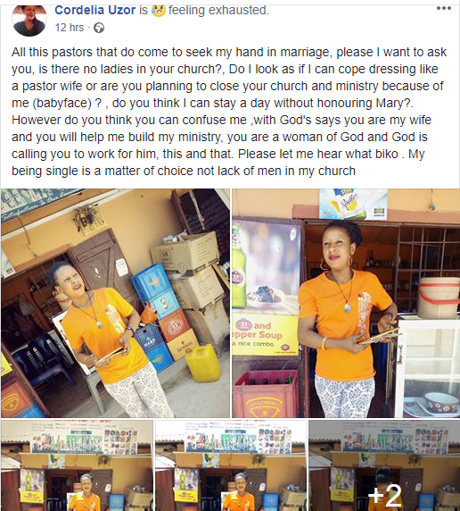 Catholic woman has some words for pastors seeking her hand in marriage