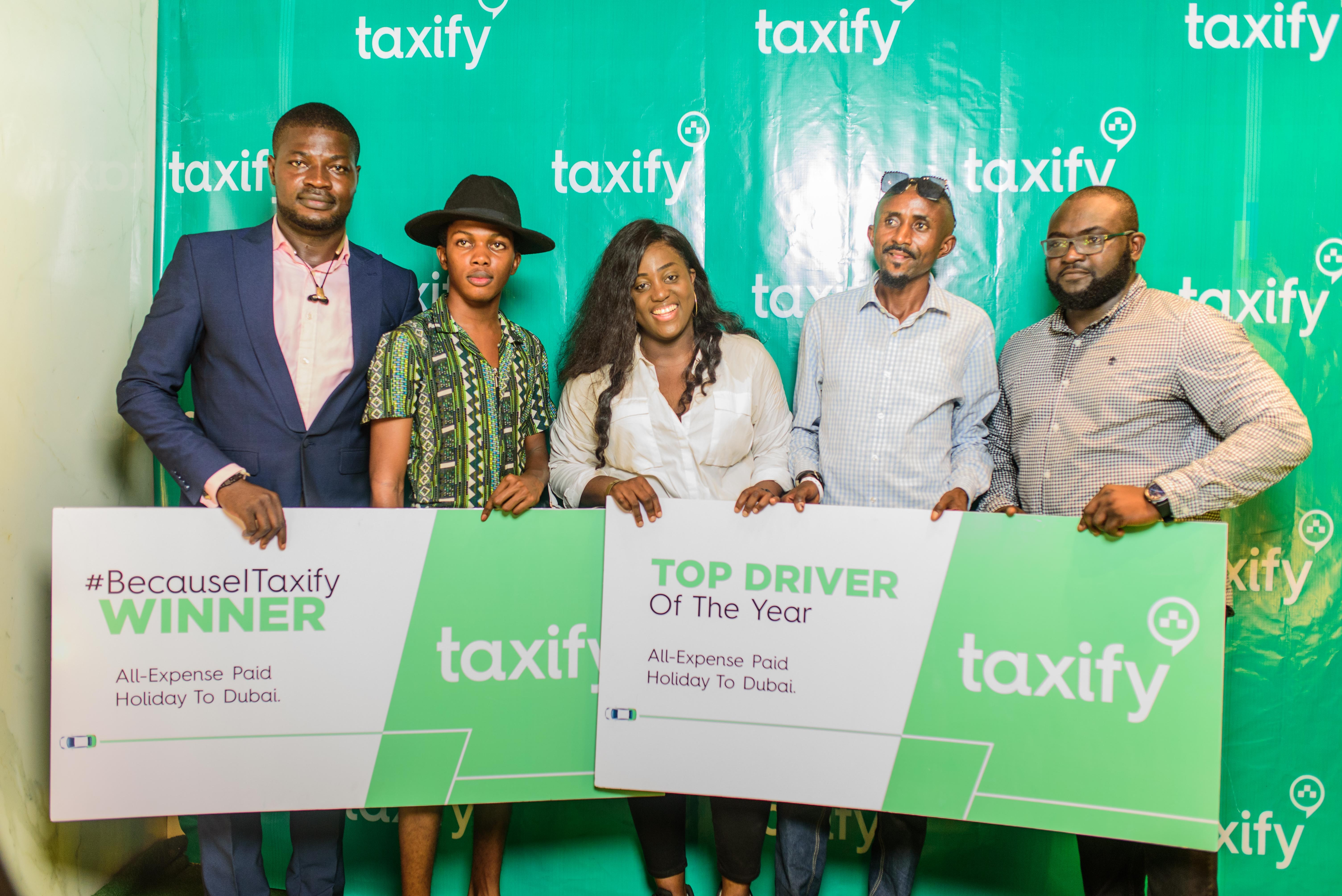 Taxify rewards top drivers, riders at exclusive even